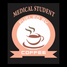 Medical Medical-Student-Fueled-By-Coffee-design T-Shirt