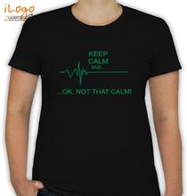 Medical Keep-Calm-design T-Shirt