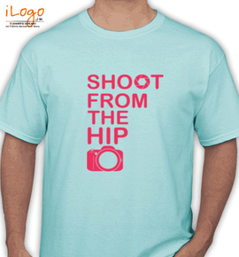 Shoot from the hip photography - T-Shirt