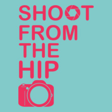 Shoot-from-the-hip-photography T-Shirt