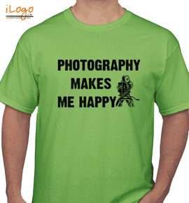 happy photography - T-Shirt