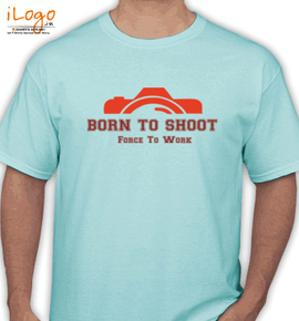 born force to work - T-Shirt
