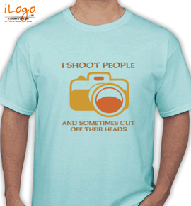 i shoot people - T-Shirt