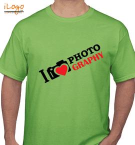 Heart photography - T-Shirt