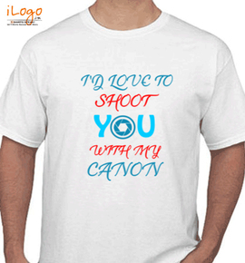 In love to shoot - T-Shirt