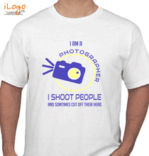 Photographer shoot-people-design T-Shirt