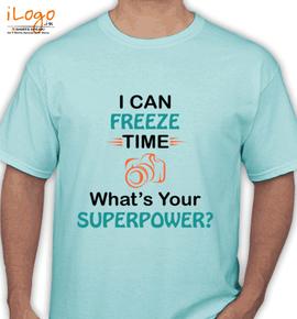 Photographer superpower - T-Shirt
