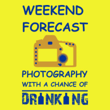 Photographer photography-chance-drinking T-Shirt