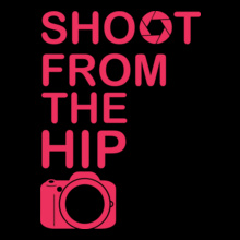 photography-shoot-from-hip T-Shirt