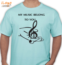 Play Music music-belong-to-u T-Shirt