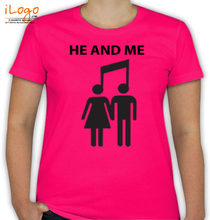 Play Music he-and-me T-Shirt