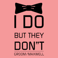 Bachelor Party bow-groom T-Shirt