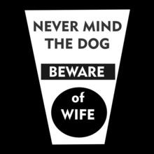 Wedding BEWARE-OF-WIFE T-Shirt