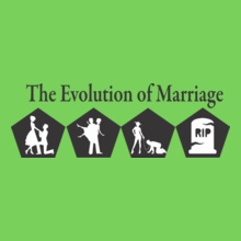 Wedding Evolution-Of-Marriage T-Shirt