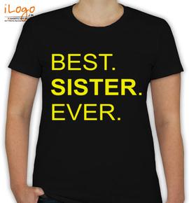 Best-sis-ever - T-Shirt [F]