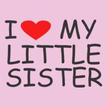 Sisters I-love-my-sister-tshirt T-Shirt