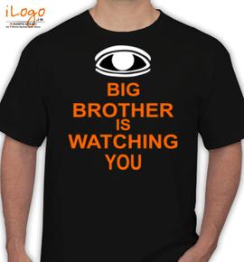 Big-brother-watching-you - T-Shirt