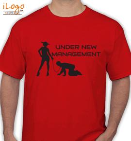 under Management - T-Shirt