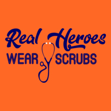 Medical Real-heroes-wear-scrubs T-Shirt