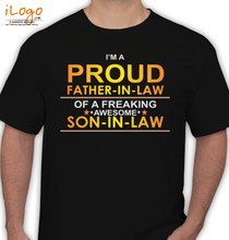 Father in Law Freaking-son-in-law T-Shirt