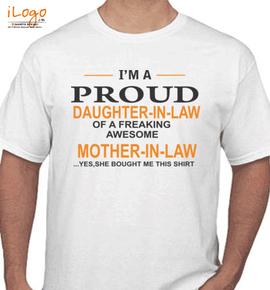 Proud-of-tshirt - T-Shirt