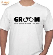 Wedding groom-design T-Shirt