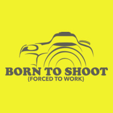 Photographer born-to-shoot-design T-Shirt