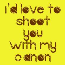 Photographer canon T-Shirt
