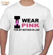 Mother in Law I-wear-pink-tshirt T-Shirt