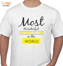 Mother in Law Wonderful-tshirt T-Shirt