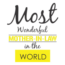 Mother in Law Wonderful-tshirt T-Shirt