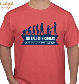 THE-FALL-OF-NICHOLAS - T-Shirt