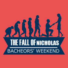 Bachelor Party THE-FALL-OF-becheor T-Shirt