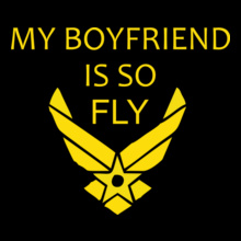 Air Force My-boyfriend T-Shirt