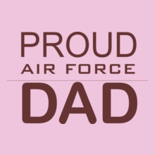 Air Force Proud-dad-tshirt T-Shirt