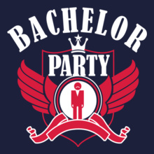 Bachelor Party Bachelor-party-wing T-Shirt