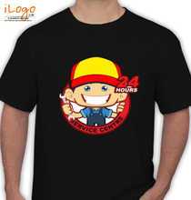 Automotive Cartoon-service-centre T-Shirt