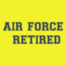 Air Force Retired-tshirt T-Shirt