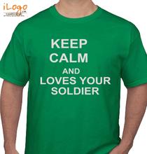Army Keep-calm-tshirt T-Shirt