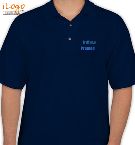 Infosys1 personalized polo shirt at best price editable for Custom polo shirts canada