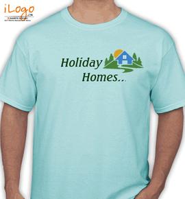 holiday homes - T-Shirt