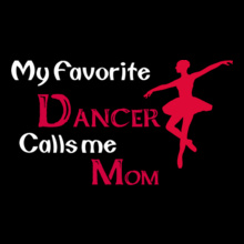 Dance Studio Dancer-calls-mom T-Shirt