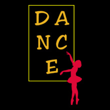 Dance Studio D-A-N-C-E T-Shirt