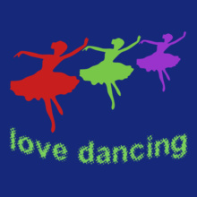 Dance Studio Love-Dancing T-Shirt