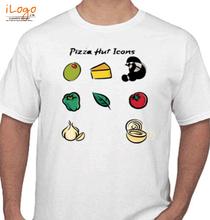Restaurant PIZZA-HUT-Icone T-Shirt