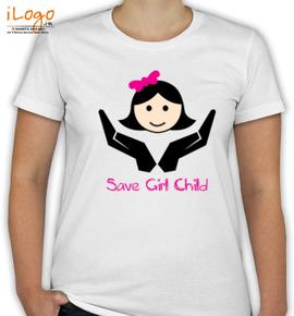 SAVE GIRL CHILD - T-Shirt [F]