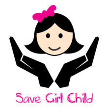 Charity run/walk SAVE-GIRL-CHILD T-Shirt