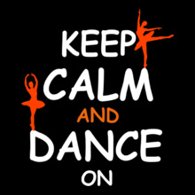 Dance Studio keep-calm-%-dance-on T-Shirt