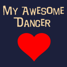 Dance Studio my-awesome-dancer T-Shirt