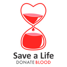 Charity run/walk SAVE-LIFE-DONATE-BLOOD T-Shirt